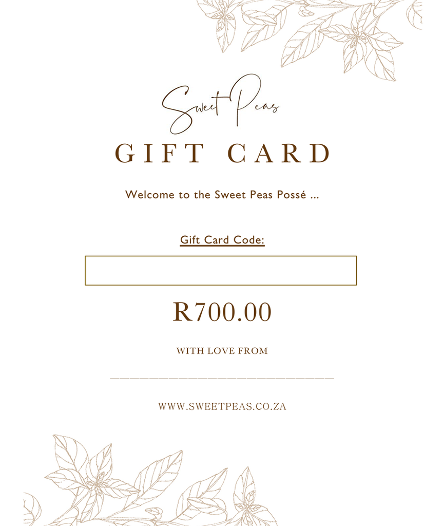 R700 Digital Gift Card