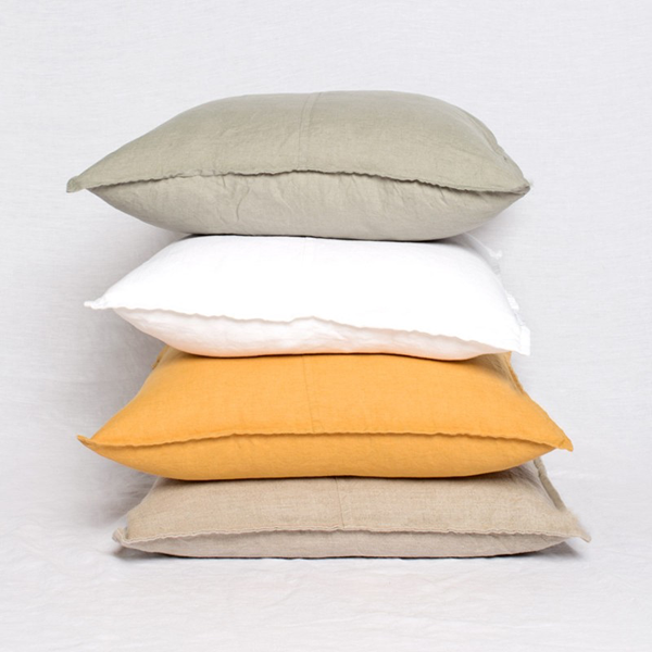100% Natural Linen Scatter Cushion Covers