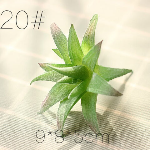 Mini Artificial Various Plastic Plants Home  Ornament Decoration