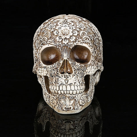Home Decor Resin Craft Medical model Human Skull