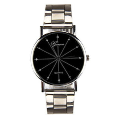 Men Contracted Steel Band Watch