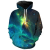Image of GREEN SPACE 3D HOODIE