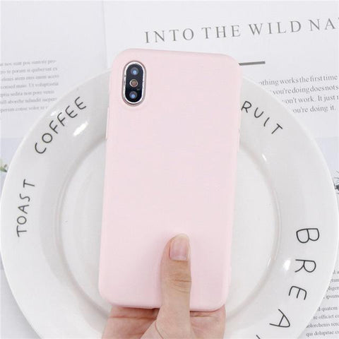 Matte Color iPhone Cases
