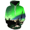 Image of FOREST LIGHTS 3D HOODIE