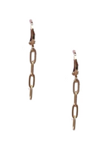 Load image into Gallery viewer, Chained Up Earrings