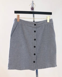 Unbutton Me Skirt