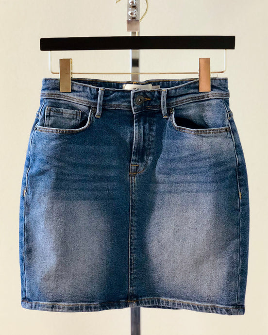 Girl Nextdoor Denim Skirt