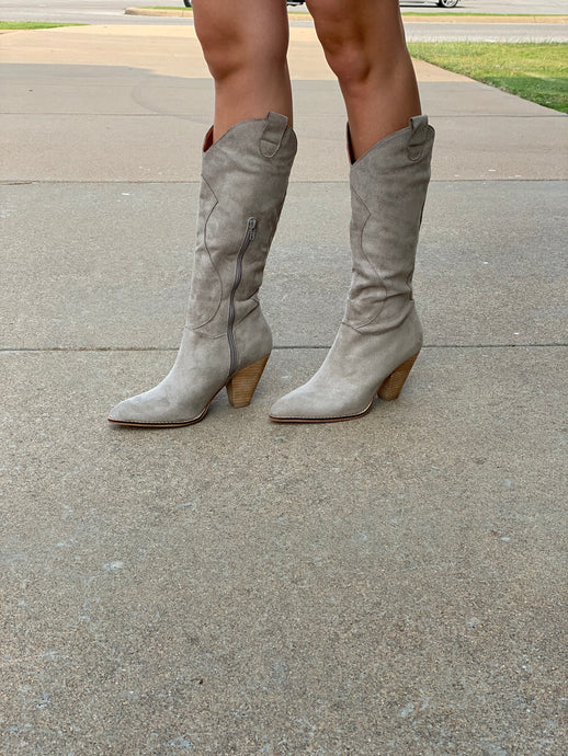 BOHEMIAN BOOT - TAUPE