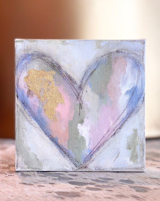 S. Swanson Canvas Mini Heart 6x6