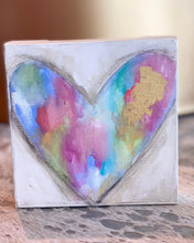 Load image into Gallery viewer, S. Swanson Canvas Mini Heart 6x6