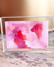 Load image into Gallery viewer, Mini Painting in Lucite 5x7