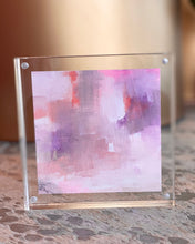 Load image into Gallery viewer, Mini Painting in Lucite 6x6