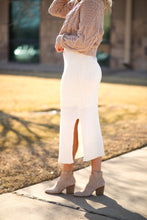 Load image into Gallery viewer, At Long Midi Skirt - Cream