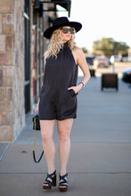 Load image into Gallery viewer, Mi Amour Romper- Black