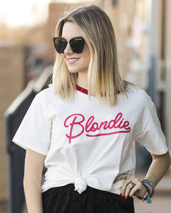 Blondie Graphic Band Tee