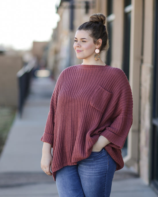 Step Knit Up Sweater