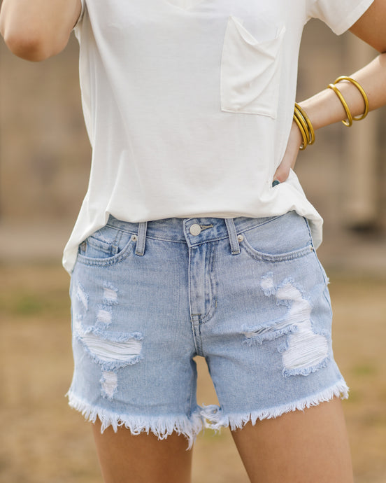 Distressed To Impress Denim Short