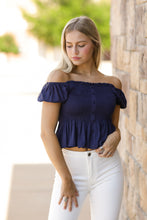 Load image into Gallery viewer, Summer Crush Smocked Top