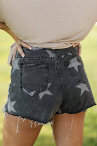 Denim Dream Star Shorts
