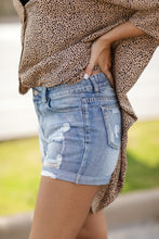 Load image into Gallery viewer, In High Spirits Denim Shorts