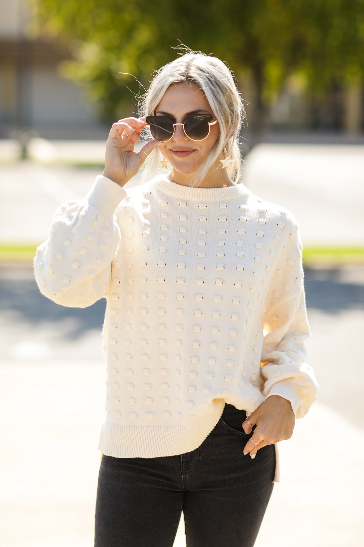 Keep Knit Going Sweater