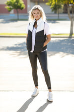 Load image into Gallery viewer, BuddyLove Tanya-Black/White Vest