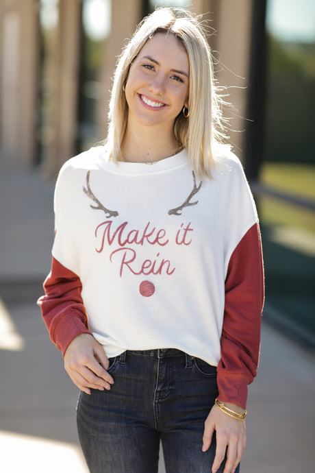 ZS Make It Rein Sweatshirt