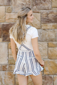 Striped Overall Blues