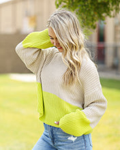 Load image into Gallery viewer, Pinch of Neon Sweater