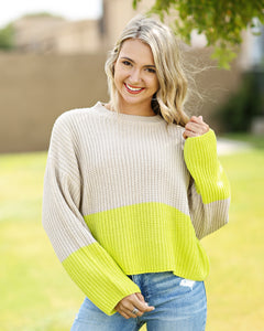 Pinch of Neon Sweater