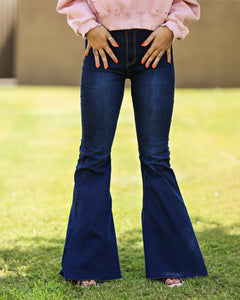 Moonshine Flare Denim Pants