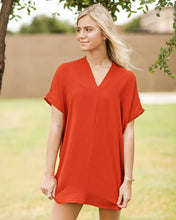 Load image into Gallery viewer, Game Day Tunic Dress