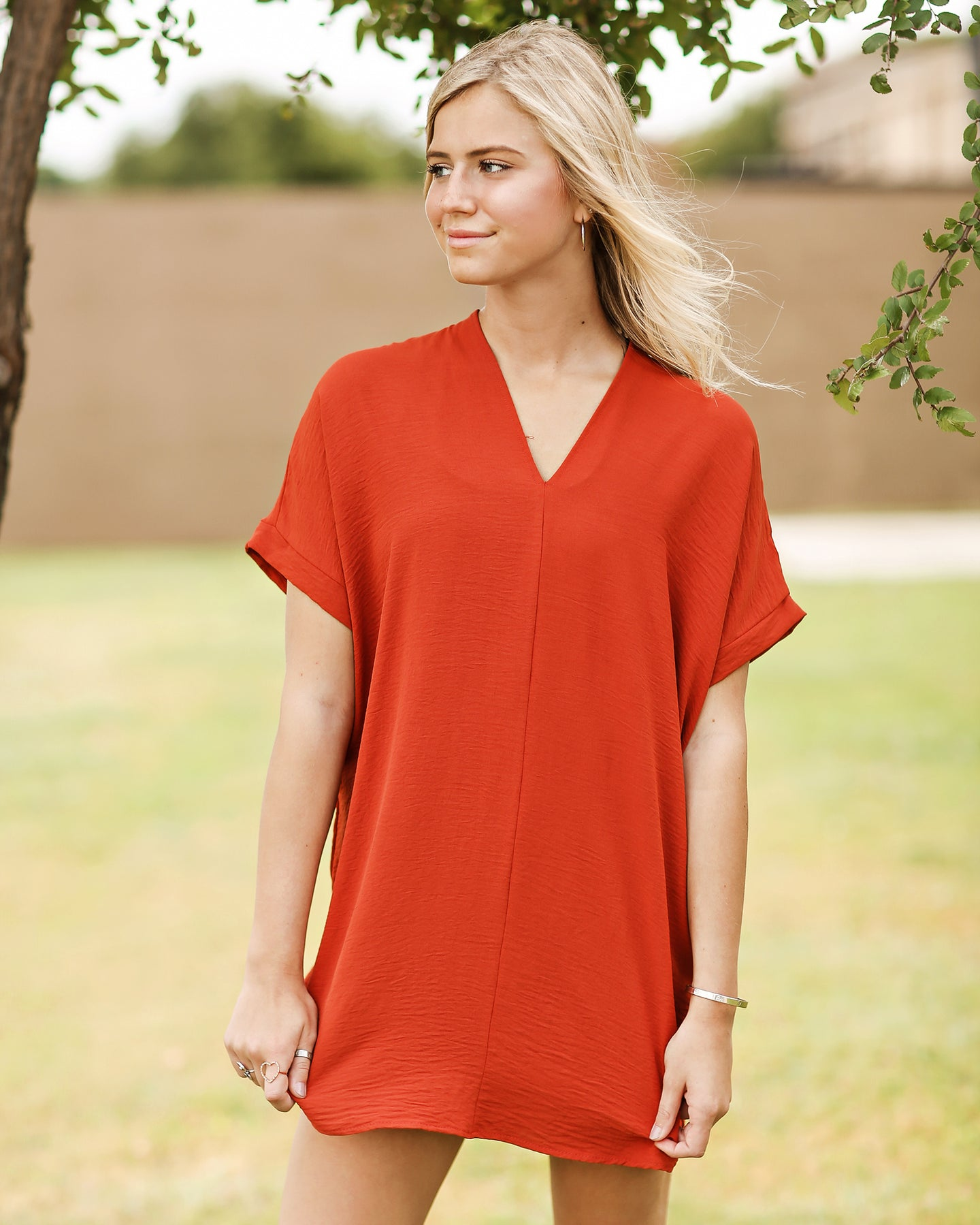 Game Day Tunic Dress