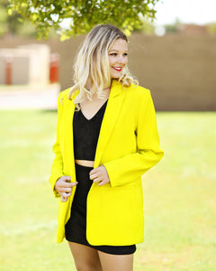 Keep It Bright Blazer