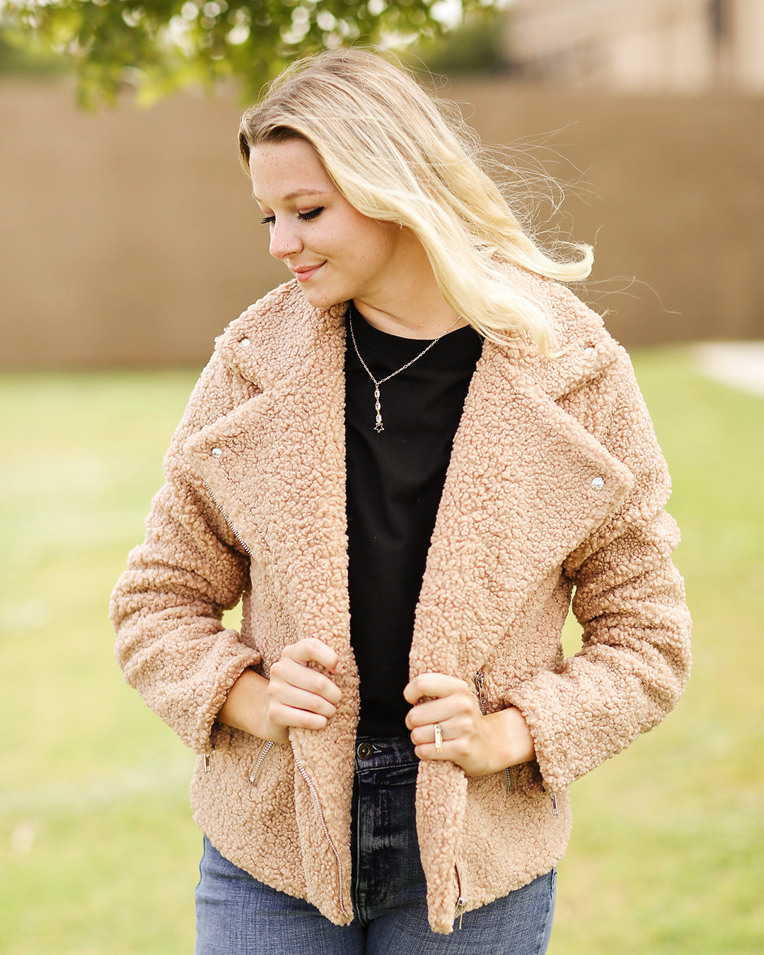Teddy Taupe Coat