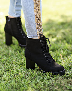 Long Walks Chunky Bootie