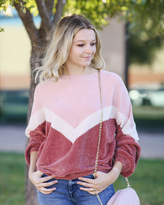 Strawberry Cream Sweater