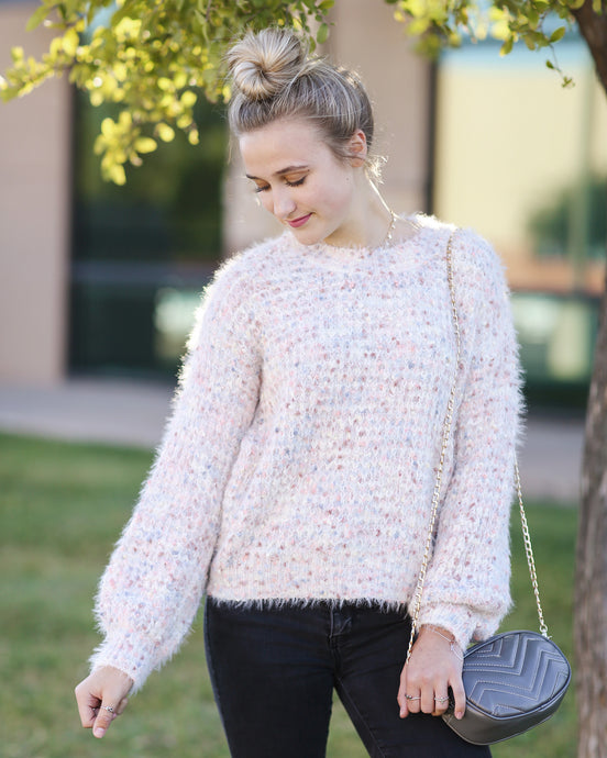 Cotton Candy Dream Sweater