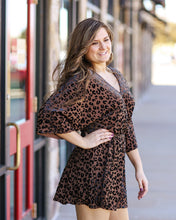 Load image into Gallery viewer, Whitney Leopard Dress
