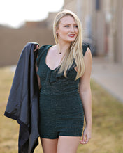 Load image into Gallery viewer, Emerald Green Romper