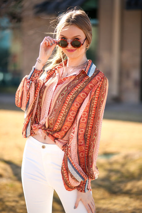 Wallflower Blouse