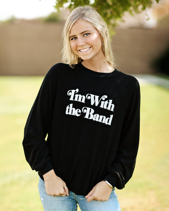 I'm With The Band Pullover
