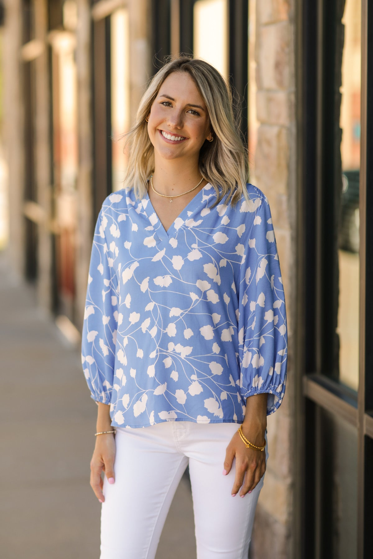 Bluebell Blouse