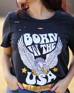 Born In The USA Graphic Tee