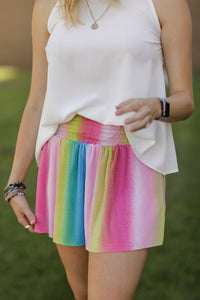 Follow the Rainbow Skort