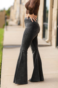 Without A Flare Jeans - Black
