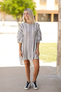 Striped Up Dress