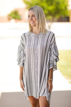 Load image into Gallery viewer, Striped Up Dress