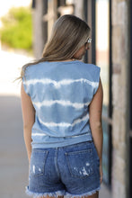 Load image into Gallery viewer, Cotton Candy Tank- Blue