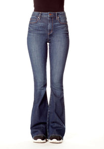 AOS: Oliver High Rise Flare Jeans